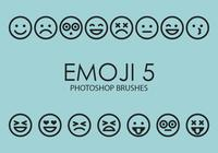 Emoji Photoshop Brushes 5