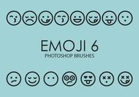 Emoji Photoshop Brushes 6