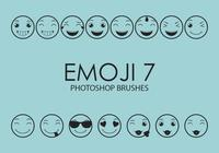 Emoji Photoshop Brushes 7