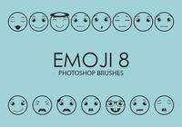 emoji photoshop brosses 8
