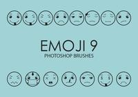 Emoji Photoshop Brushes 9