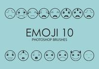 Emoji Photoshop Brushes 10