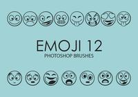 Emoji Photoshop Brushes 12
