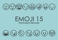 Emoji Photoshop Brushes 15