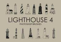 Lighthouse Pinceles para Photoshop 4