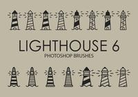 Lighthouse Photoshop Brushes 6