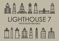 Lighthouse Photoshop Brushes 7