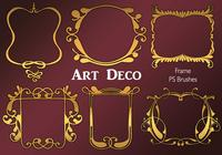 20 Art Deco Frame PS Brushes.abr vol.4