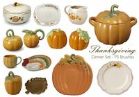 20 Thanksgiving Abendessen PS Brushes.abr vol.9