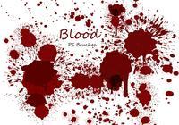 20 Blood Splatter PS Brushes abr vol.9