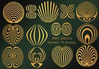 20 art deco element ps brushes.abr vol.5