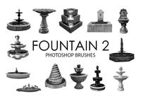 Fountain Photoshop Brushes 2