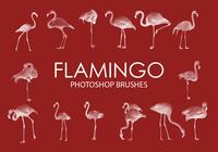 Flamingo Pinceles para Photoshop