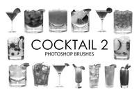Cepillos de Photoshop Cocktail 2