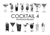 Brochas para Photoshop Cocktail 4