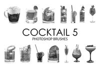Cepillos de Photoshop Cocktail 5