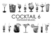 Brochas para Photoshop Cocktail 6