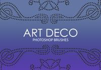 art deco photoshop escovas