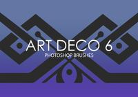 Art Deco Photoshop borstar 6