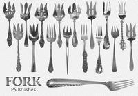 20 Fork Vintage PS Brushes abr.Vol.2