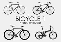 Gratis fiets Photoshop-borstels 1