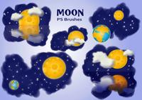 20 Moon Ps Brushes abr vol.9
