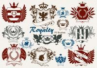 20 Royalty Emblem PS Brushes abr. vol.8