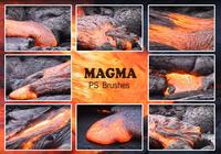 20 Magma-Textur PS Brushes.abr vol.4