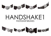pinceladas do photoshop handshake
