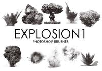 Explosion Photoshop Brushes