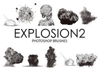 Explosion Photoshop Brushes 2