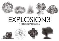 Explosion Photoshop Brushes 3