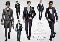 20 Groom PS Brushes abr. Vol.6
