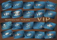 20 Vip Card PS Brushes abr. Vol.6