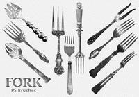 20 Fork Vintage PS Brushes abr.Vol.3
