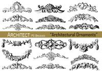 20 Architectural Ornaments - PS Brushes.abr vol.13