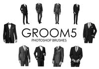 Pincéis do Groom Photoshop 5
