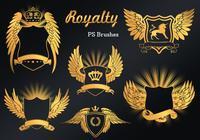 20 Royalty Emblem PS Brushes abr. vol.9