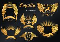 20 Royalty Emblem PS Brushes abr. vol.9