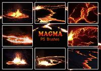 20 Magma-Textur PS Brushes.abr vol.7