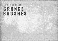 Hi Resolution Messy Grunge Brushes