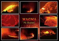 20 Magma Texture PS Brushes.abr vol.6