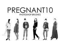 Pregnant Photoshop Brushes 10