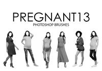 Pregnant Photoshop Brushes 13