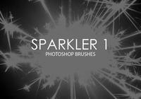 Sparkler Photoshop Borstar 1