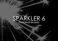 Pinceles do Photoshop sparkler 6