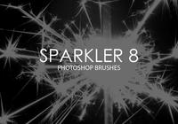 Sparkler Photoshop Brushes 8