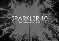 Sparkler Photoshop Brushes 10