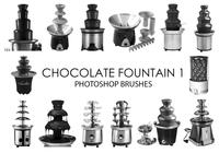 Chokladfountain Photoshop Borstar 1