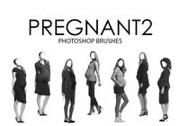 Pregnant Photoshop Brushes 2